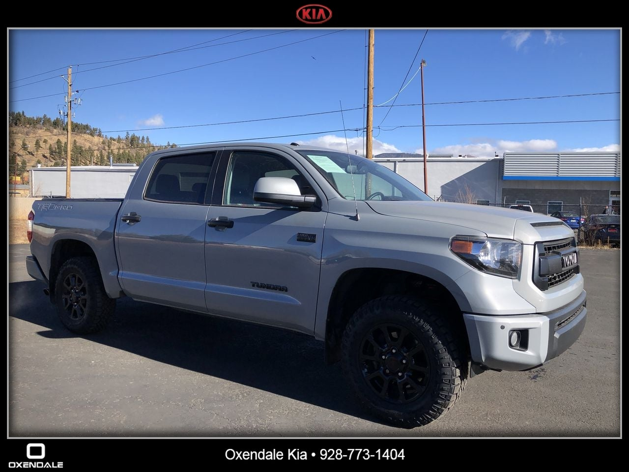 2017 Toyota Tundra Trd Pro Crewmax 5 5 Bed 5 7l In Flagstaff Az Flagstaff Toyota Tundra Oxendale Kia